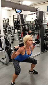 Sandi training for bikini division 2014